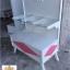 โต๊ะชั้นวางลิ้นชัก วินเทจสีขาว สำหรับบ้าน ร้านค้า thumbnail 1