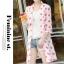 เสื้อคลุมผ้าชีฟองเนื้อนิ่ม เบาสบาย สกรีนลายจุดขนาดกำลังดี เอาไว้ปกป้องผิวสาวขาวๆ จาก UV thumbnail 17