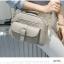 กระเป๋าหนัง PU สีเทาแบบหนังกลับ สวยโดดเด่น พร้อมช่องใส่ของอย่างจุใจ thumbnail 1