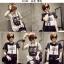 เสื้อยืดแฟชั่นสำหรับสาวๆ ผ้านิ่ม มีลายให้เลือกมากมาย และหลายขนาด SET2 thumbnail 4