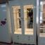 ตู้โชว์กระจกใสรอบวินเทจ สีขาว สำหรบบ้าน ร้านค้า thumbnail 4