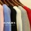 เสื้อยืดคอกลมแฟชั่นแขน 3 ส่วน คอกว้าง ผ้านิ่ม กับสีให้เลือกกันอย่างจุใจ thumbnail 14