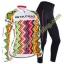 ชุดปั่นจักรยานหญิง เสื้อปั่นจักรยานแขนยาว + กางเกงปั่นจักรยานขายาว **พร้อมส่ง thumbnail 1
