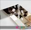 เคสไอโฟน 6 Plus / 6s Plus (TPU Case) ด้านหลังเคลือบพลาสติกกระจกสีทอง thumbnail 1