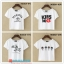 collection เสื้อยืดพื้นขาว สกรีนลายนิดๆ ดูสบายตา set 4 thumbnail 5