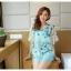 เสื้อชีฟองพิมพ์ลายผีเสื้อสุดสวย สีหวานโทรพาสเทล เย็นสบายตามแบบผ้าชีฟอง thumbnail 15