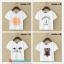collection เสื้อยืดพื้นขาว สกรีนลายนิดๆ ดูสบายตา set 4 thumbnail 4