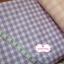 ผ้าคอตตอนลินิน 1/4ม.(50x55ซม.) สีม่วง ลายตาราง thumbnail 2