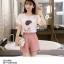 ชุดเสื้อพร้อมกางเกงเข้าเซท สีหวานๆ สไตล์น่ารัก ปรับลุ๊คให้ดูเด็กจริงๆ thumbnail 13