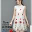 ชุดกี่เพ้าลายสวย พริ้วไหวแบบผ้าชีฟองเนื้อดี กับลายปักดอกกุหลาบสวยๆ thumbnail 2