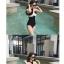 ชุดว่ายน้ำแฟชั่นสวยๆ แบบวันพีช ออกแบบให้ใส่ได้ทั้งแบบเกาะอกและคล้องคอ thumbnail 16
