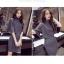 ชุดเซ็ทเสื้อแฟชั่นเกาหลี พร้อมกระโปรง ดูเก๋ อินเทรนด์มั่กกๆ คร่าาา thumbnail 13