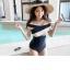 ชุดว่ายน้ำแฟชั่นสวยๆ แบบวันพีช ออกแบบให้ใส่ได้ทั้งแบบเกาะอกและคล้องคอ thumbnail 8