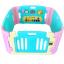 คอกกั้นเด็ก Meeso สี Aquamarine อความารีน ไซส์ S รุ่น Melody thumbnail 1