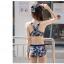 ชุดว่ายน้ำสไตล์สปอร์ทลายพรางอินเทรนด์ กางเกงขาสั้น เสื้อกล้าม และเสื้อแขนยาวแบบครบเซ็ท thumbnail 15