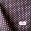 ผ้าคอตตอนไทย 100% 1/4 ม.(50x55ซม.)ลายดาว พื้นสีน้ำตาล thumbnail 2