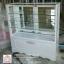 ตู้โชว์สินค้ากระจกใสเตี้ยเตี้ยวินเทจสีขาว ภายในชั้นกระจกใส 2 ชั้น thumbnail 6