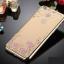 เคสไอโฟน 7 (TPU CASE) Gold Pink Flower thumbnail 2