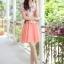 เดรสสั้นสไตล์เกาหลี สวยหวานกับโทนสีพาสเทลเย็นๆ สวย หวาน ที่สุด thumbnail 7