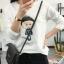 เสื้อยืดคอกลม สกรีนลายตัวการ์ตูน ดูน่ารัก กวนๆ ลงบนผ้าเนื้อนิ่ม ใส่สบายมากๆ ค่ะ thumbnail 6