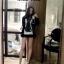 ใหม่ กางเกงขาสั้นเอวสูงแฟชั่นเกาหลี ต้อนร้บช่วง summer ตกแต่งขากางเกงแหวกแนว ไม่เหมือนใคร thumbnail 11