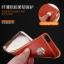 เคสไอโฟน 7 (TPU Case) ลายหนังสีน้ำตาลส้ม ขอบทองคลุมรอบเครื่อง thumbnail 2