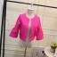 เสื้อคลุม สีสันจัดจ้าน มีให้เลือกเข้ากับชุดได้หลากสีไลายสไตล์ thumbnail 16