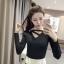 เสื้อแขนยาวแฟชั่นเกาหลี ทรงสวย คอเสื้อเก๋ๆ เข้าหุ่นพอดี เสริมรูปร่างให้สาวๆ มีสัดส่วนขึ้น thumbnail 34