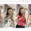 เสื้อแขนกุดลายแฟชั่น สีสันสวยๆ ลวดลายโดดเด่น กับผ้าบางเบาแบบชีฟอง thumbnail 1