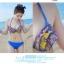 Pre Order ชุดว่ายน้ำแฟชั่นเกาหลี โดดเด่นด้วยสีสันและลวดลาย มาพร้อมเสื้อคลุมผ้าพริ้วไหวในชุด thumbnail 10