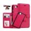 เคส 2IN 1 (เคสไอโฟน+กระเป๋า) ถอดแยกได้ สีชมพู Iphone 7 thumbnail 1