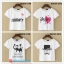 collection เสื้อยืดพื้นขาว สกรีนลายนิดๆ ดูสบายตา set 6 thumbnail 1