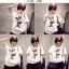 เสื้อยืดแฟชั่นสำหรับสาวๆ ผ้านิ่ม มีลายให้เลือกมากมาย และหลายขนาด SET2 thumbnail 5