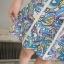 ชุดเซ็ทเสื้อเอวลอย พร้อมกระโปรงลายสวย สีสด น่ารักและลงตัวมากๆ thumbnail 3
