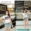 collection เสื้อยืดพื้นขาว สกรีนลายนิดๆ ดูสบายตา set 6 thumbnail 15