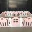 คอกกั้นเด็ก Haenim new สีชมพู-ขาว รุ่น Petit - ขนาด 10 แผ่น thumbnail 2
