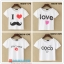 collection เสื้อยืดพื้นขาว สกรีนลายนิดๆ ดูสบายตา set 4 thumbnail 6