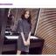 ชุดเซ็ทเสื้อแฟชั่นเกาหลี พร้อมกระโปรง ดูเก๋ อินเทรนด์มั่กกๆ คร่าาา thumbnail 3