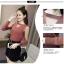 เสื้อแขนยาวแฟชั่น ดีไซน์ผสมผ้าซีทรู ดูสวย เซ็กซี่นิดๆ น่ามองจริงๆ thumbnail 7