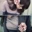 กิ๊บดอกไม้ผ้าคละสี thumbnail 1