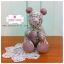 [Made to Order] ตุ๊กตาหมีผ้าคอตตอน ขนาด 6 นิ้ว thumbnail 1