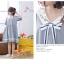 เดรสแฟชั่นชุดกลาสี สไตล์สาวญี่ปุ่น แต่งปกเสื้อ น่ารักสมวัยใสๆ thumbnail 8