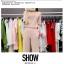 ชุดลำลอง เสื้อพร้อมกางเกงขายาวเข้าชุด สีพื้นเรียบๆ ผ้ายืดใส่สบายๆ ง่ายๆ แต่ดูดี thumbnail 14