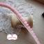 ลูกไม้แต่งปอมปอมเล็กสีชมพูสลับครีม กว้าง 0.9 ซ.ม. แบ่งขายเป็นหลา thumbnail 1