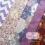 Set 5 ชิ้น : ผ้าคอตตอน 100% โทนสีชมพู5 ลาย ชิ้นละ1/8 ม.(50x27.5ซม.) thumbnail 1