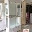 ตู้โชวกระจก วินเทจ สีขาว สำหรับตกแต่งบ้าน ร้านค้า thumbnail 3