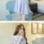 เดรสแฟชั่นเกาหลี เปิดไหล่นิดๆ กับสีพาสเทลหวานๆ ดูเข้ากันกำลังดีเลยค่ะสาวๆ thumbnail 10