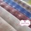 ผ้าทอญี่ปุ่น 1/4ม.(50x55ซม. โทนสีครีม ทอลายตารางแต่งดอกไม้ thumbnail 2