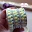 ลูกไม้ตุ้มเล็ก สีเหลืองเขียว แบ่งขายเป็นหลา thumbnail 5