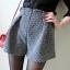 กางเกงขาสั้นเกาหลี ดีไซน์แบบเอวสูง ขาบาน ใส่แล้วเดินคล่องตัว thumbnail 1